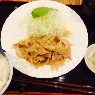 生姜焼き定食(まい泉 東急店)