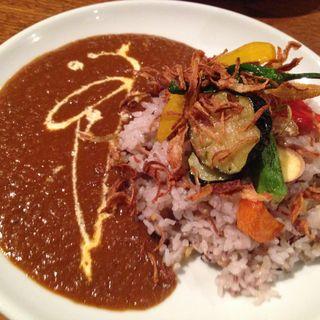 野菜カレー(OnEdrop cafe.)