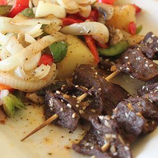 Teriyaki Kabob(Simple Joy Vegetarian Cuisine)
