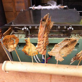 海鮮串せんべい(はりかい 姫路城店 )