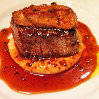 牛フィレ肉とフォアグラのロッシーニ(俺のフレンチ GINZA)