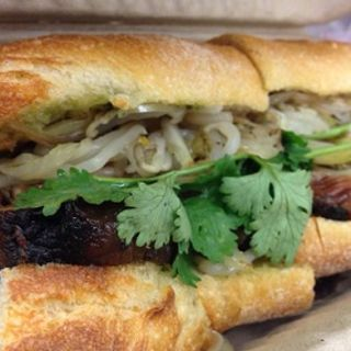 Pho French Dip Banh Mi   (The Pig and the Lady)