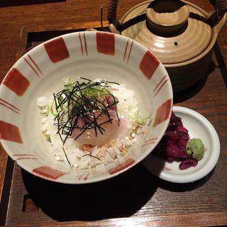 鯛茶漬け(旬彩酒庵 おねぎや 新宿店 (しゅんさいしゅあん・おねぎや))