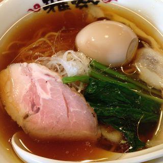 生揚げ醤油煮玉子ラーメン(雅楽)