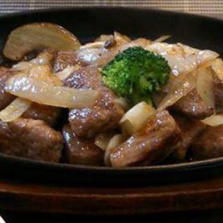 サーロインステーキセット(寿楽)