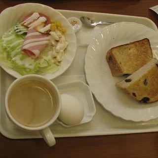 レーズントーストセット(キムラヤのパン福山駅前)