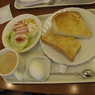 バタートーストセット(キムラヤのパン福山駅前)