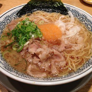熟成醤油ラーメン 肉そば(丸源ラーメン 桂店 )