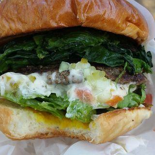 ポパイバーガー(TakeOut)(ArmS Park Side Burger Shop)