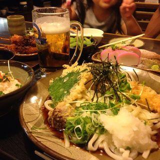 海老おろし蕎麦(三六 (みろく))