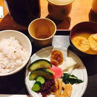 お茶漬けセット(阿古屋茶屋 (あこやちゃや))