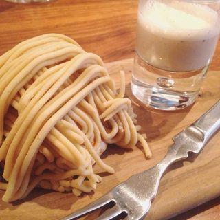 モンブランと栗のスープ(レストラン オカダ (OKADA))