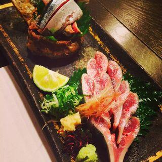 秋刀魚サンマ造り(ここら屋 先斗町店 )
