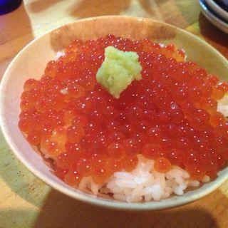 イクラ丼(オーツキ食堂)