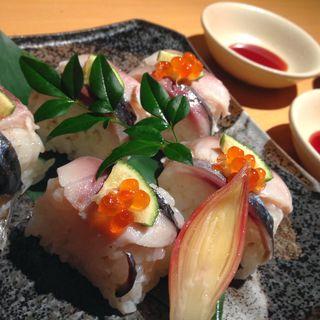 しめ鯖寿司(夢や京町しずく 新宿東口駅前店 )