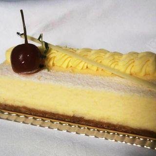 チーズケーキ(中国料理 「王朝」 ヒルトン大阪 (オウチョウ))
