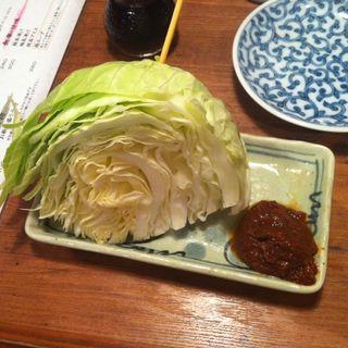串キャベツ(串八珍 御徒町店 (くしはっちん))