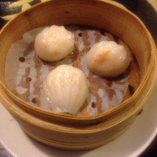海老蒸し餃子(中華飯店てんじく 西明石店 )