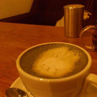黒みつ抹茶ミルク(コトカフェ (coto cafe))