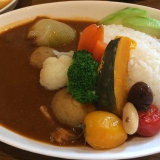 野菜カレー(木のいいなかま)