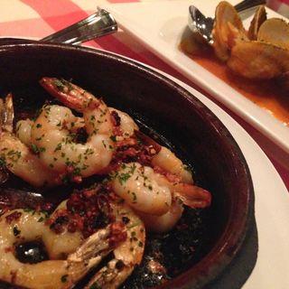 小海老のオリーブ油焼(カサ・デ・フジモリ )