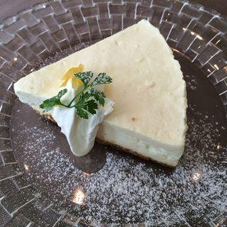 ゆずチーズケーキ(ブンカフェー)