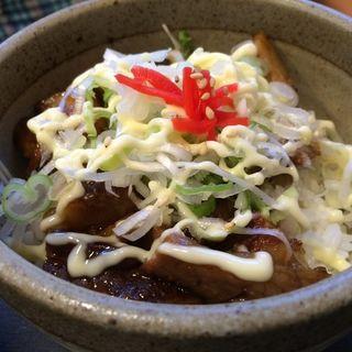 ネギマヨチャー丼(らーめん玄 神楽店)