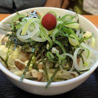 チャーマヨご飯(らーめんや 天金 四条店)