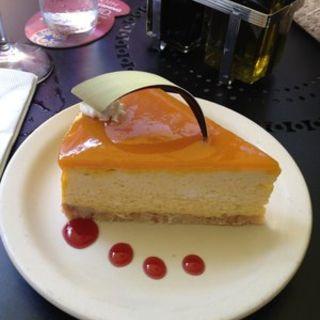 Mango cheesecake(Brasserie Du Vin )
