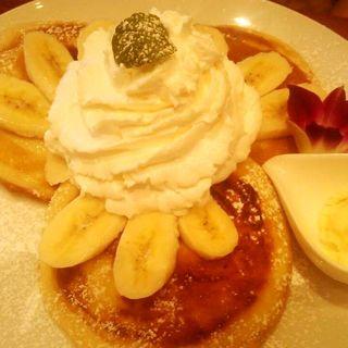 パンケーキ バナナクリーム(カフェ バニヤン (Cafe Banyan))