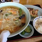 もやしラーメンセット(餃子&ご飯)