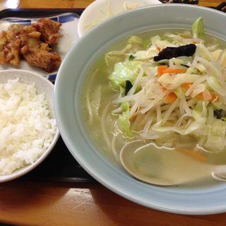 野菜タンメン大盛りセット(麺屋 豪快 (めんや ごうかい))