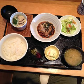 鯛茶漬け定食(魚菜屋 なかむら )