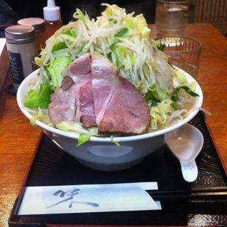 野菜ラーメン野菜大盛り(ラーメン あや )
