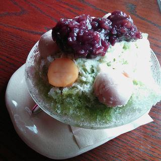 宇治金時氷(cafe ATRE (カフェ アートゥル))