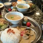 鶏肉と野菜のグリーンカレー