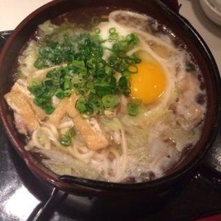 なべ焼きチキンうどん(Restaurant & Bar Ko)