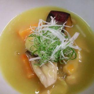 さつまいもの和風スープ(やすひろの畑 )