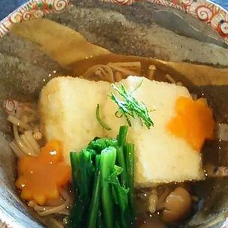 揚げ出し豆腐(やすひろの畑 )