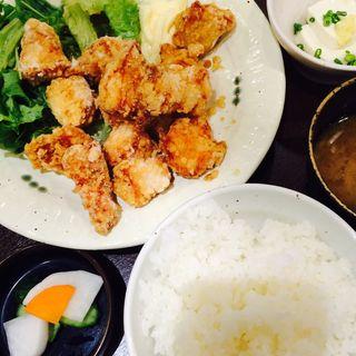 テンカラ定食(一番どり 新宿マインズタワー店 (いちばんどり))