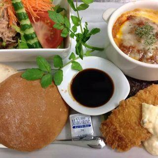 白身魚のフライプレート(カスケードガーデン (Cascade Garden【旧店名】レストラングリーンハウス))