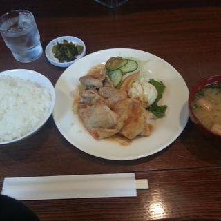 生姜焼き定食(コーヒー付)(ヒルス&薔薇屋 )