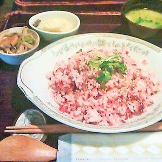 シバ漬け定食(おまめ )