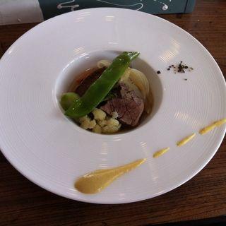 牛バラ肉のスープ仕立て(カフェポーズ(cafe PAUSE))
