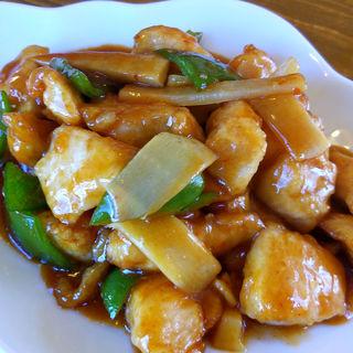 鶏肉のカラシ炒め(華一 本店 (はないち))