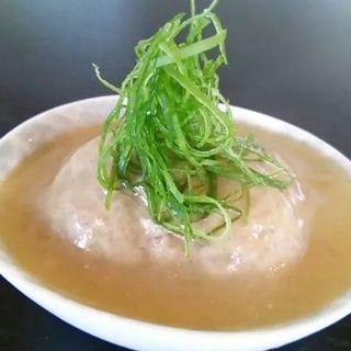 鶏肉のつくね白味噌煮(やすひろの畑 )