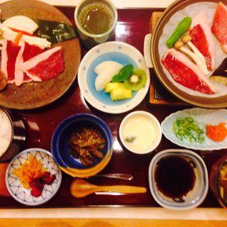 鴨陶板焼き定食(レストラン白雲谷 (レストランハクウンダニ))