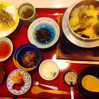 釜飯定食(レストラン白雲谷 (レストランハクウンダニ))