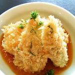 豆腐のカツトマトソース