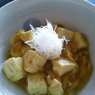 和風カレーの麻婆豆腐(やすひろの畑 )